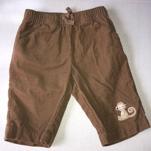 Gymboree In The Jungle monkey pants 0-3 months